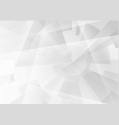 abstract grey background in geometric style vector image