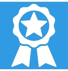Award icon from competition success bicolor icon vector