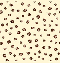 black pepper spice seamless hand drawn pattern vector image