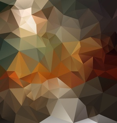 Dark brown opal abstract polygon triangular vector