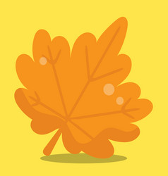 Gobble give thanks leaf 12 vector