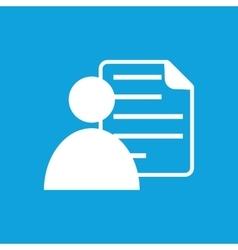 Profile icon simple vector image