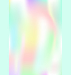 vertical abstract background with holographic vector image