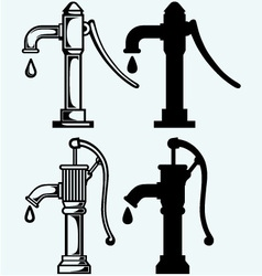 Water pump vector image