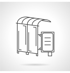 icon for bus station vector image