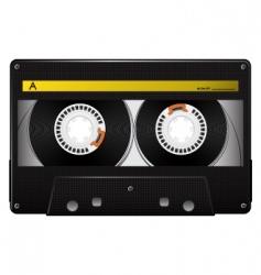 vector audio cassette vector image vector image