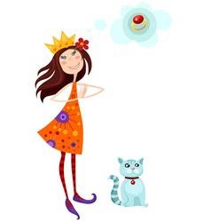 princes vector image