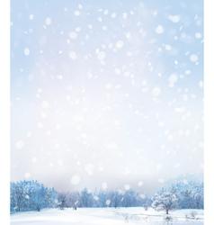 Winter day vector
