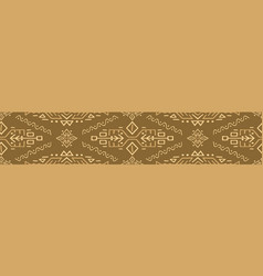 african ethnic style seamless pattern vector image