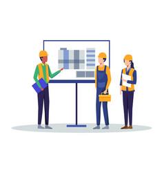 Building industry concept vector