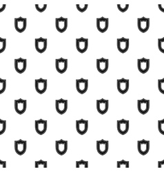 Combat shield pattern simple style vector