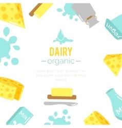 dairy vector image