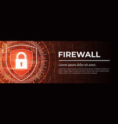 Firewall the handsome red digital background vector