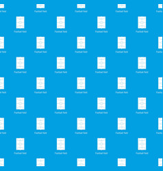football field pattern seamless blue vector image