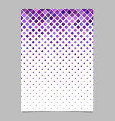 geometrical pattern poster template - mosaic page vector image