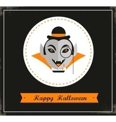 Happy Hipster Halloween vector image