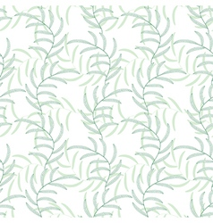 Leaf floral abstract seamless background pattern vector image