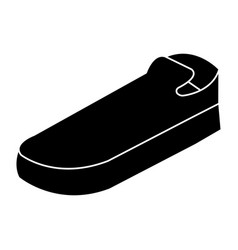 moccasins shoes isolated icon vector image