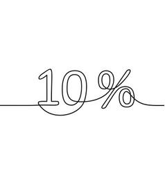 Percent vector