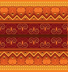 retro carpet design vector image