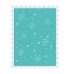 snow snowflakes background celebration merry vector image
