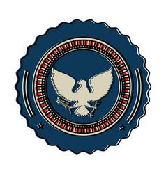 United states america eagle vector