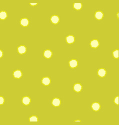 Polka dot chaotic seamless pattern 209 vector