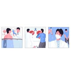 Man sexual health square vector