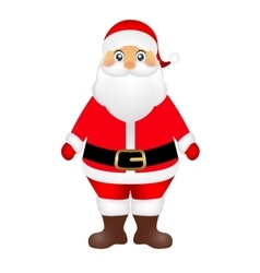 Santa claus on white background vector