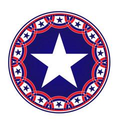 american star symbol icon vector image