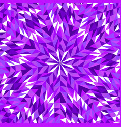 Colorful geometrical dynamic radial tiled mosaic vector