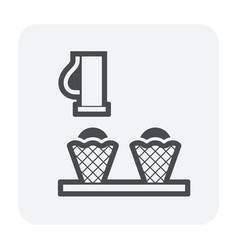 food processing icon vector image