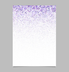 Geometric diagonal rounded square mosaic pattern vector