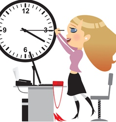 Office day vector