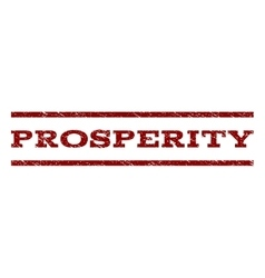 Prosperity Watermark Stamp vector
