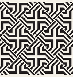 Repeating geometric stripes tiling vector
