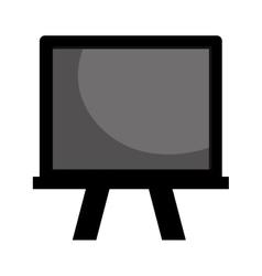 blackboard school isolated icon vector image