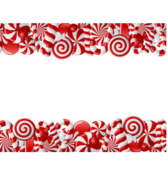 frame candies vector image vector image