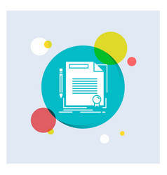 Agreement contract deal document paper white vector