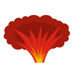 atomical explosion icon isolated vector image