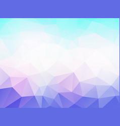bule purple color geometric mosaic background vector image