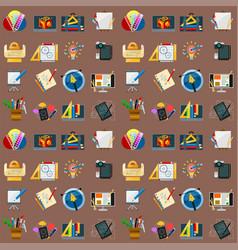 creativity seamless pattern background imagination vector image