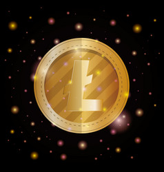 Electronic commerce with litecoin vector