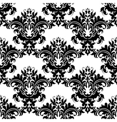 Heavy ornate seamless arabesque pattern vector