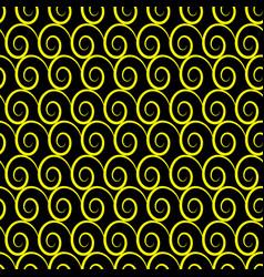 wave geometric seamless pattern 909 vector image
