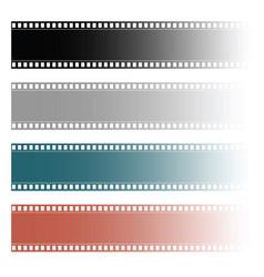 Film tape roll vector