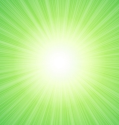 Green sunny background with place for text vector image vector image