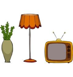 furniture postmodernism vector image vector image