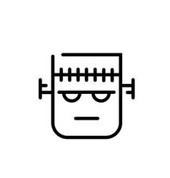 Frankenstein line vector
