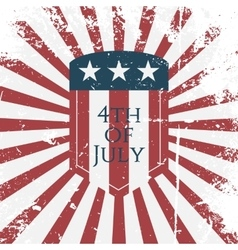 Independence Day 4th of July Holiday Symbol vector image